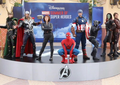 Personajes de Marvel en Disney Studios Paris
