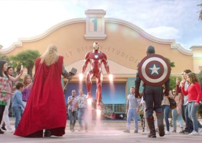 Personales de Marvel en Disneyland Paris