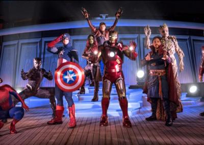 Personajes de Marvel en Disneyland Paris
