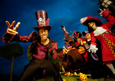 Villanos en Halloween Disneyland Paris