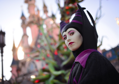 Malefica en Halloween Disneyland paris