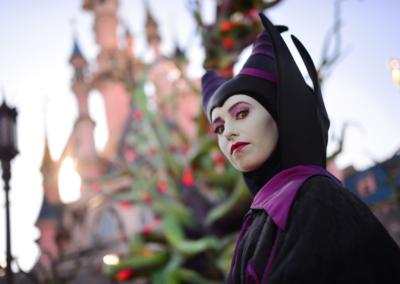 Malefica en Halloween Disneyland paris