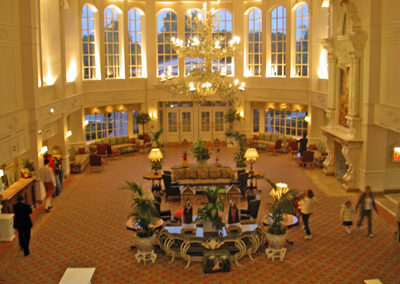 Lobby Hotel Disneyland Paris