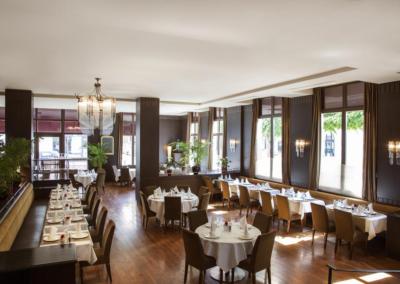 Restaurante dle Relais Spa Chessy
