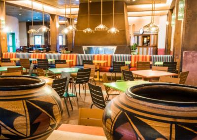 restaurante Disney Hotel Santa Fe Paris