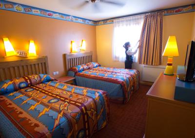 habitacion Disney Hotel Santa Fe Paris