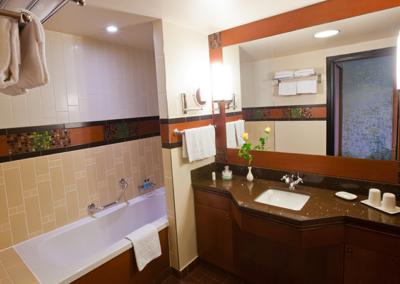 Disney Sequoia Lodge Bathroom