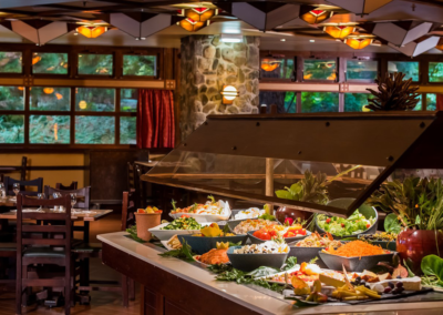 Buffet Hotel Disney Sequoia Lodge Paris