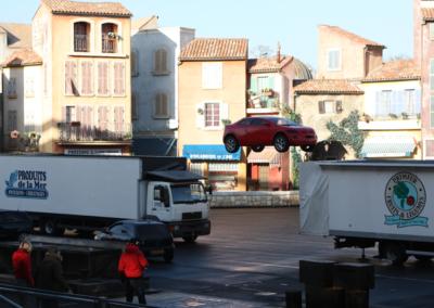 Salto de coche Motor Stunt Show en Disney Studios Paris