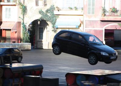 Coches en Motor Stunt Show en Disney Studios Paris