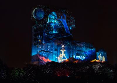 Espectaculo Navidad en Disney Studios paris