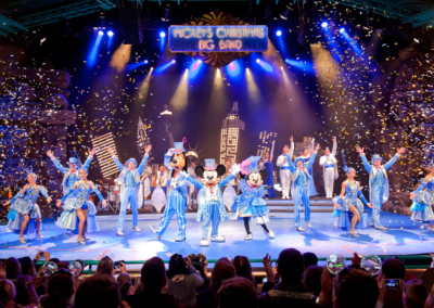 Espectáculo Mickey Xmas Band en Disneyland Paris