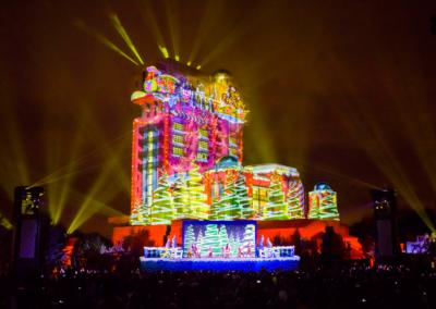 Espectaculo Christmas Eve en Disney Studios