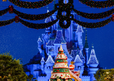 Desfile Navidad Disneyland Paris