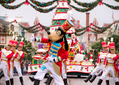 Desfile Navidad en Disneyland Paris