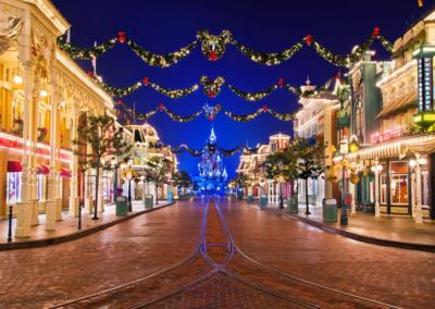 Iluminacion de Navidad Disneyland Paris