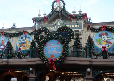 Decoracion navidad Disneyland Paris