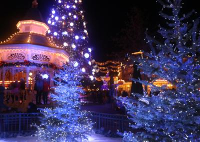 Iluminaciones Navidad Disneyland Paris