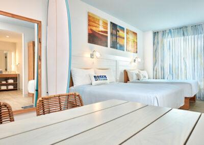 Suite dos habitaciones del hotel Endless Summer Resort Docksideen Universal Orlando