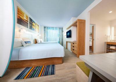 Suite dos habitaciones del hotel Endless Summer Resort Dockside en Universal Orlando