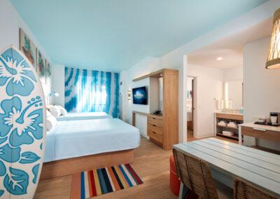 Suite dos habitaciones del hotel Endless Summer Resort Sufside en Universal Orlando