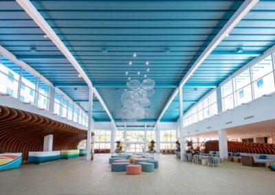 Lobby del hotel Endless Summer Resort Sufside en Universal Orlando