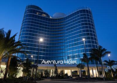 Aventura Hotel Universal Orlando Resort Entrada y vista general