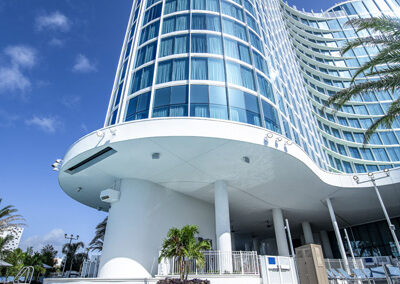 Aventura Hotel Universal Orlando Resort vista piscina