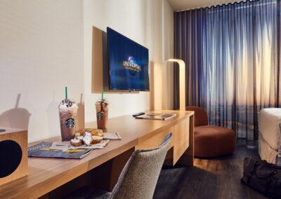 Aventura Hotel Universal Orlando Resort habitación doble