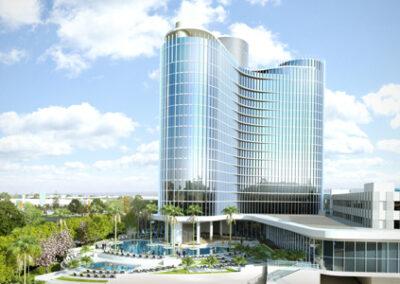 Aventura Hotel Universal Orlando Resort vista general