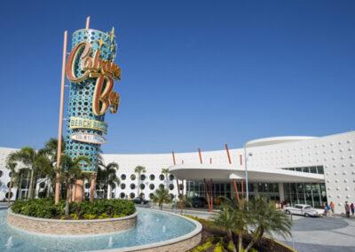 Cabana Bay Resort Universal Orlando Entrada al hotel