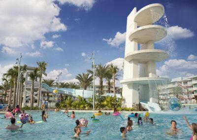 Cabana-bay-resort-universal-orlando-piscina