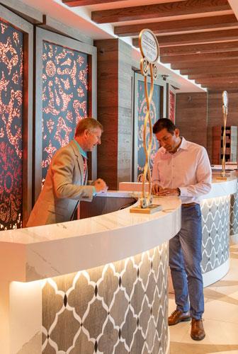 Recepción Coronado Springs Tower Resort