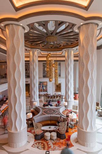 Columnas Lobby Coronado Springs Tower Resort