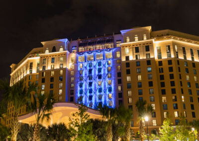 coronado-springs-tower-night-view