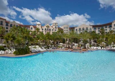 Hard Rock Hotel Universal Orlando zona de piscinas
