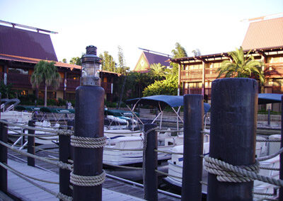 Polynesian-Resort- Embarcadero