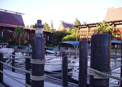 Embarcadero del Hotel Disney Polynesian Resort