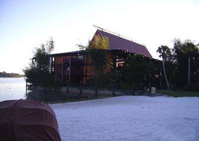 Zona de playa del Disney's Polynesian Resort