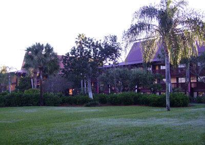 Jardines del Disney's Polynesian Resort en Orlando