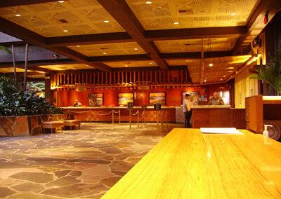 Zona de Recepción del Disney's Polinesian Resort