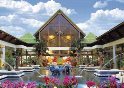 Royal Pacific Resort Universal Orlando fuente de los elefantes