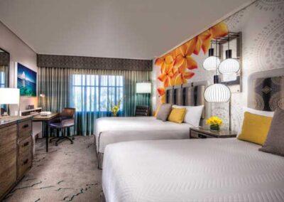 Royal Pacific Resort Universal Orlando Habitación estándar dos camas