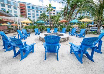 Sapphire Falls Resort Universal Orlando exteriores