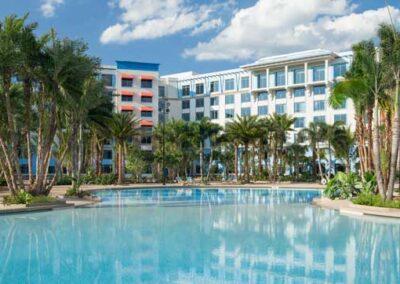 Sapphire Falls Resort Universal Orlando piscinas