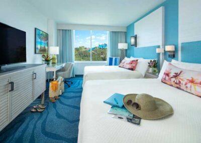 Sapphire Falls Resort Universal Orlando zona habitación estándar