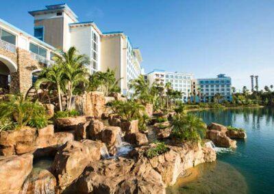 Sapphire Falls Resort Universal Orlando zona Vista Lago