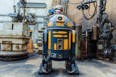 Star wars Galaxy Edge Walt Disney World Droides