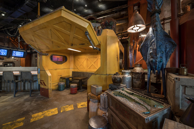 Star wars Galaxy Edge Walt Disney World Docking Bay