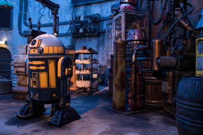 Star wars Galaxy Edge Walt Disney World Droids